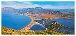 Iztuzu beach and the Dalyan river